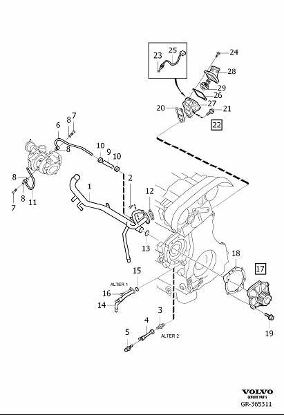 2006 XC90 2.5L 5 Cylinder - Coolant leak - Page 3 | Volvo Xc90 Engine Coolant Diagram |  | Matthews Volvo Site